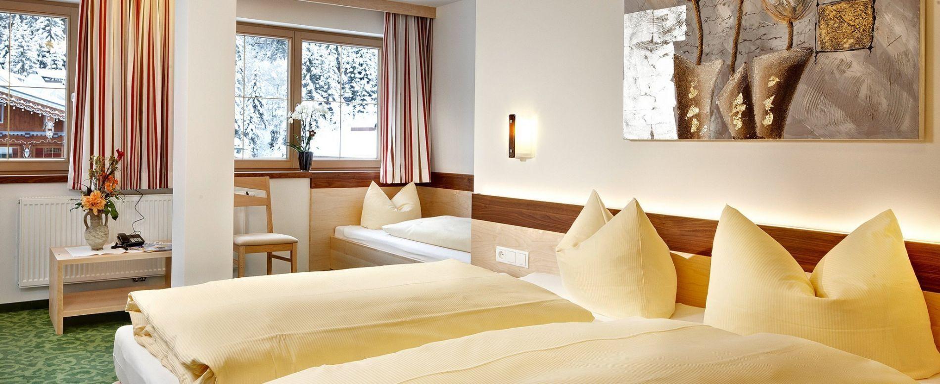 Zimmer & Preise - Hotel Sonnenhof ihr Ski Hotel im Zentrum von Gerlos